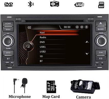 Autoradio stereo per Ford Fiesta 2005 Kuga 2008-2011 S-Max 2007