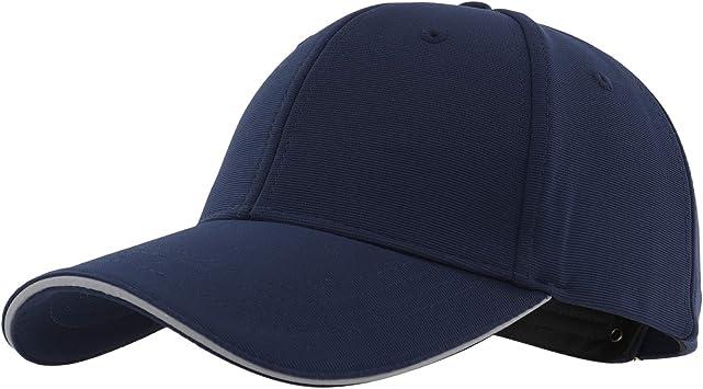 Gisdanchz Gorra De Beisbol Hombre Azul Gorras para Hombre Gorros ...