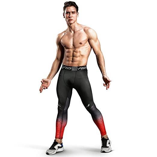 0fd9827415084 Gerlobal Men's Compression Tights Advanced Compression & Muscle Recovery  Leggings For Training,Running & Athletics