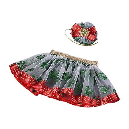 Falda de tutú para niña de 0 a 3T princesa mini falda para fiesta ...