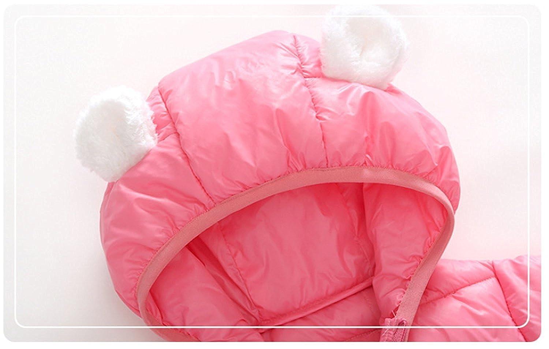 ZIYOYOR Baby Boys Girls Winter Warm Cotton Puffer Coats Cartoon Lightweight Jacket