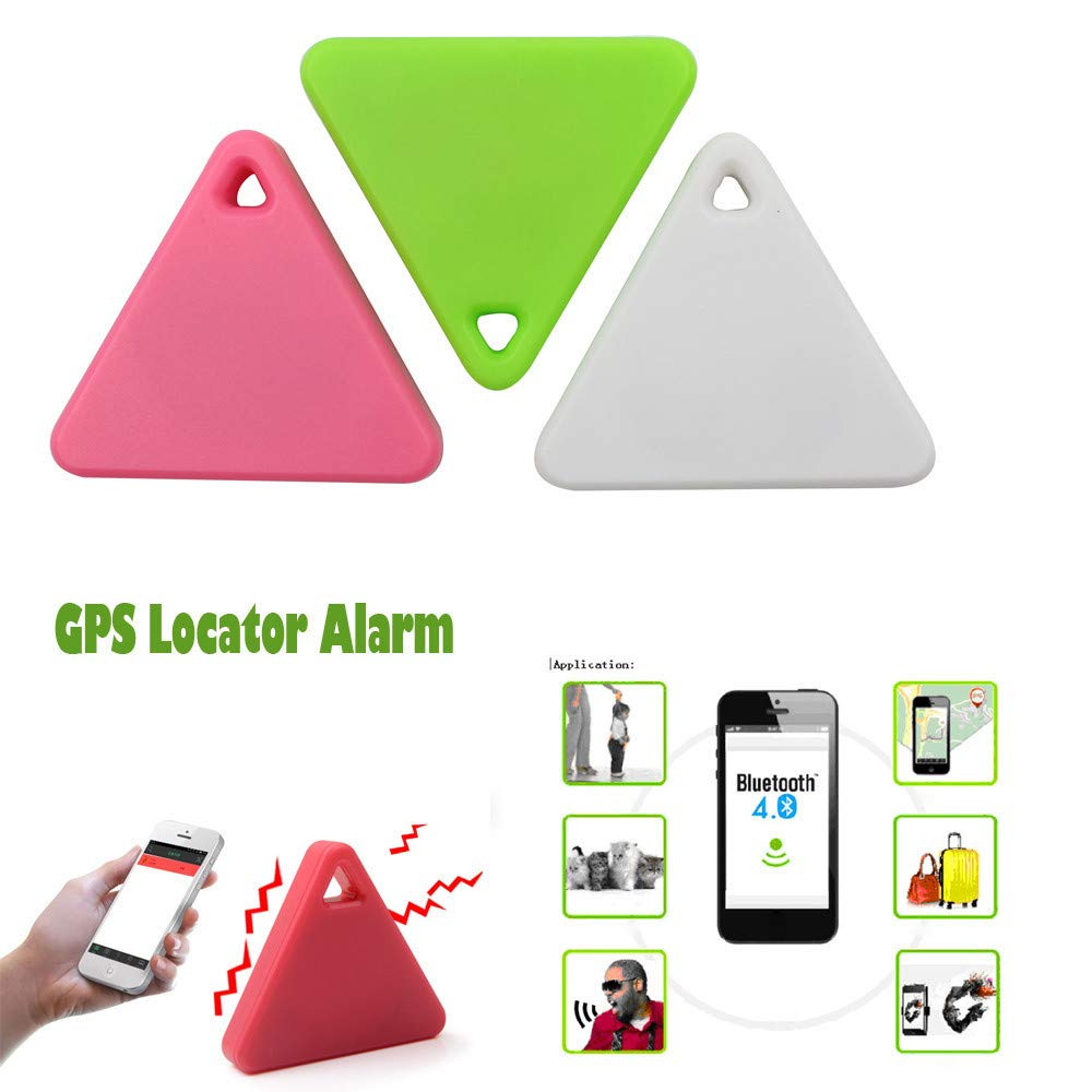 Sagton Car Motor GPS Tracker Kids Pets Wallet Keys Alarm Locator Realtime Finder Device (Green)