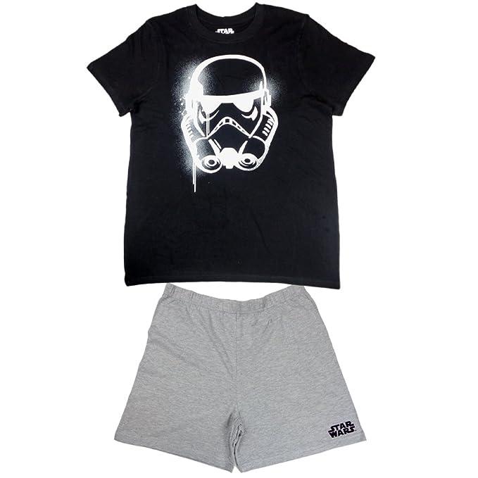 TVM - Pijama - para hombre negro y gris X-Large