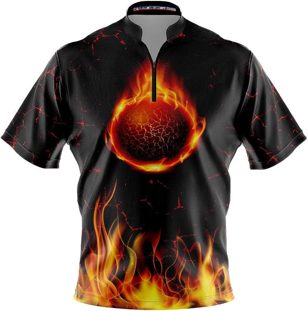 Logo Infusion Fun Bowling Dye-Sublimated Jersey (Sash Collar) - Style 0627