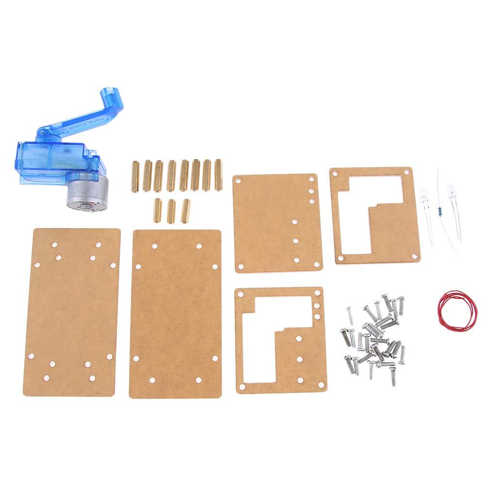 P Prettyia Generador Manual, Multifunción para Teléfono, Luz Nocturna USB, Banco de Energía, Generador de Emergencia Portátil al Aire Libre: Amazon.es: ...