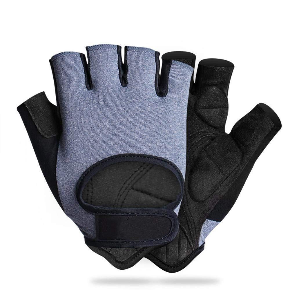 Kaxima Handschuh Sommer Kurze Finger männlichen Damen Sport Reiten Hälfte-Finger-Handschuhe