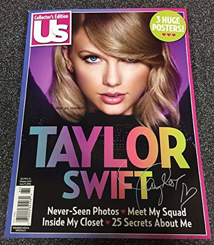 US COLLECTIONS MAGAZINE TAYLOR SWIFT #61, COLLECTOR'S EDITIO