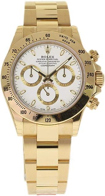 reloj daitona de oro