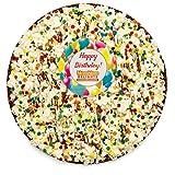 Gourmet Chocolate Gift Box | Happy Birthday Gift Chocolate Lovers Popcorn Pizza | Kosher Certified - By NomNom Delights