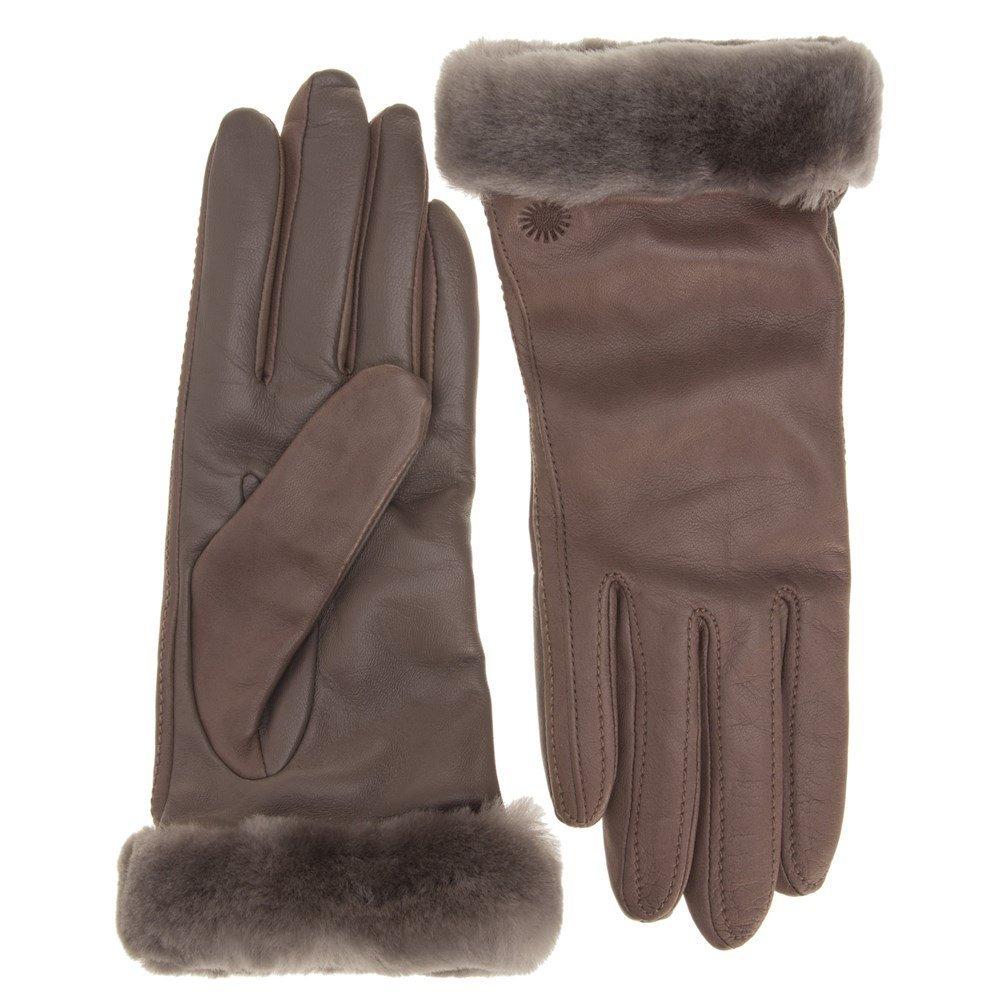 UGG® Sheepskin Turn Cuff Damen Handschuhe Braun