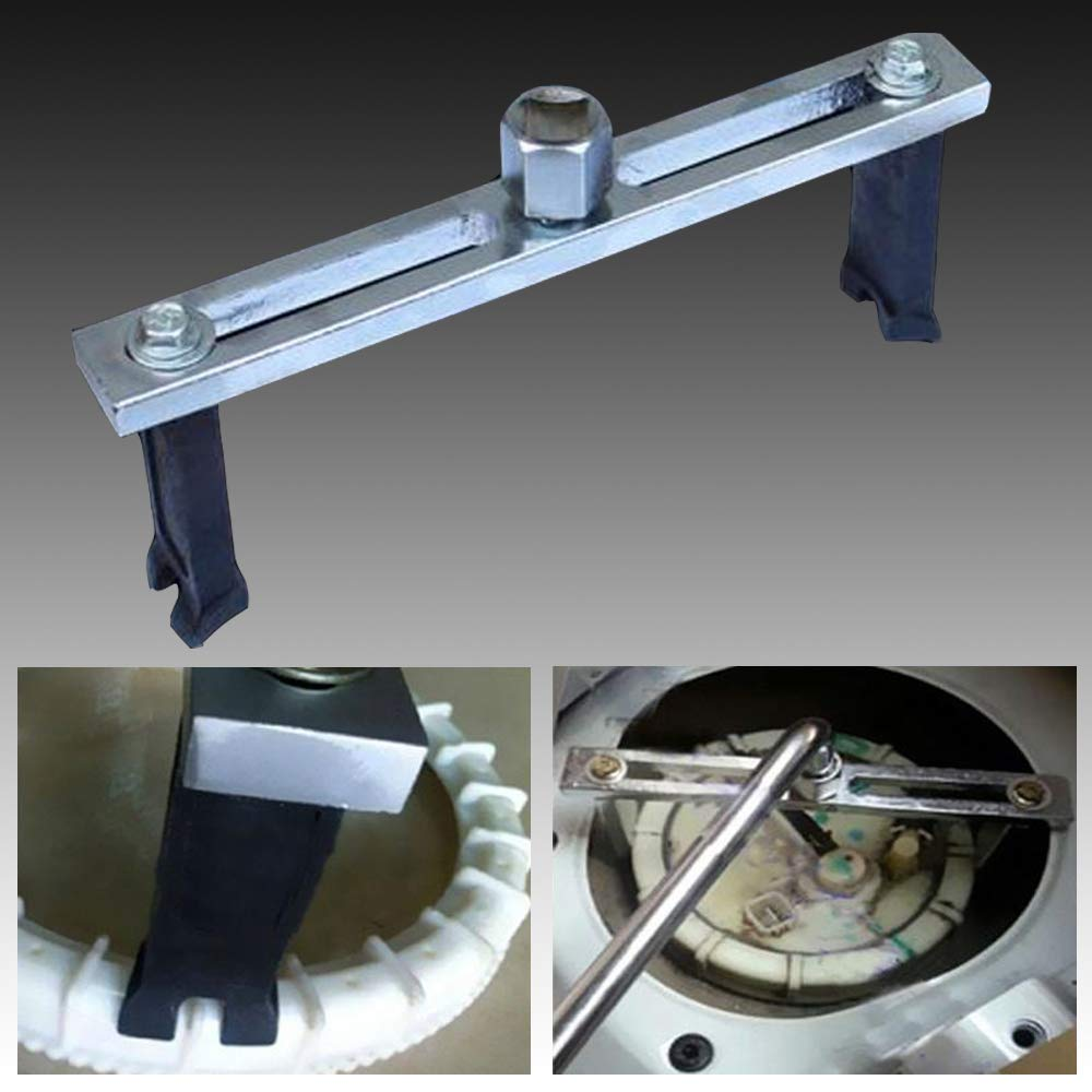 Herramienta de Extracci/ón de Bomba de Combustible para Reparaci/ón de Coches Poweka Llave Inglesa Ajustable de 38mm a 168mm del M/ódulo para Dep/ósito de Combustible