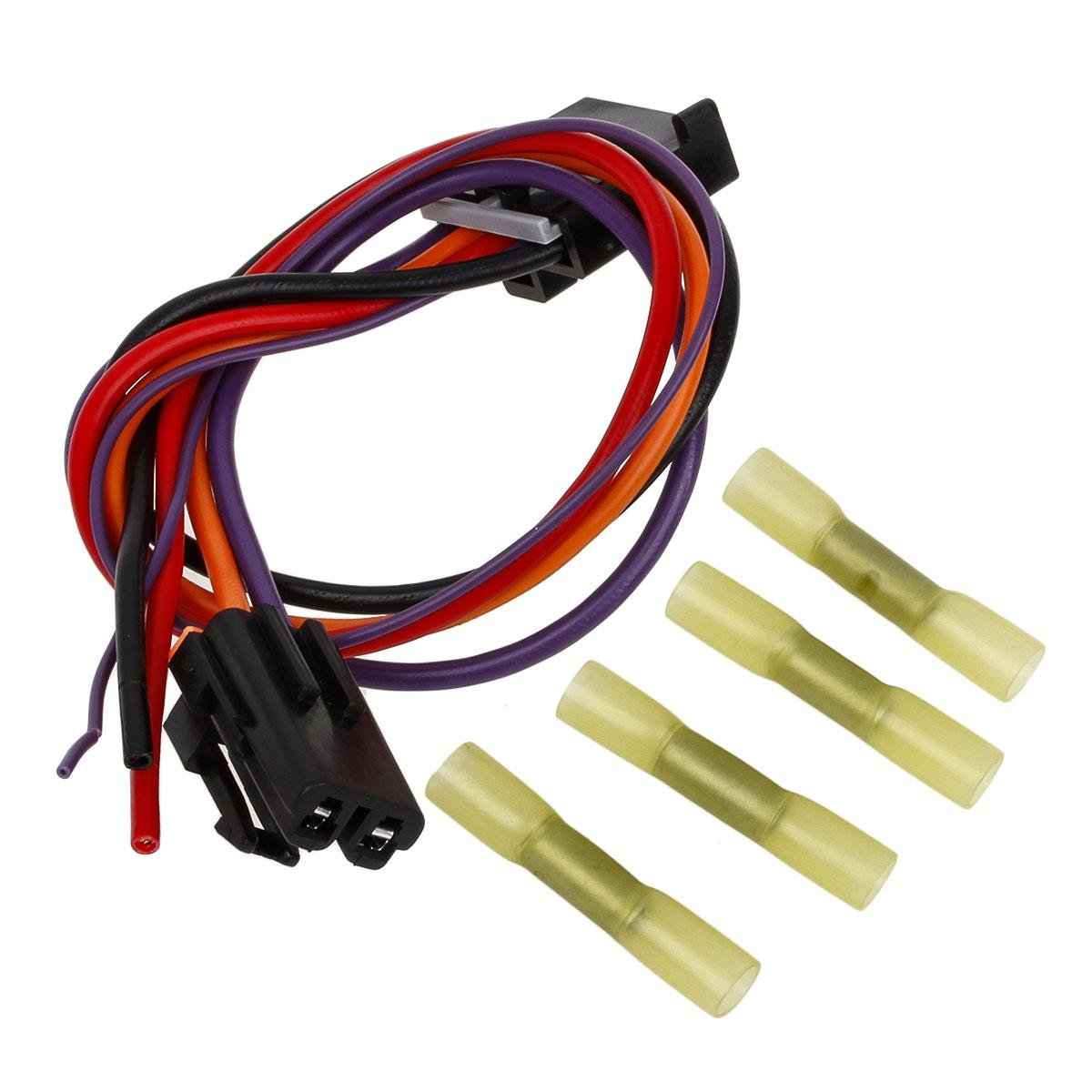 Partssquare Hvac Blower Motor Resistor Complete Kit With 04 Envoy Wiring Diagram Harness 15850268 22754990 Ru359 Replacement For Chevy Silverado Tahoe Suburban