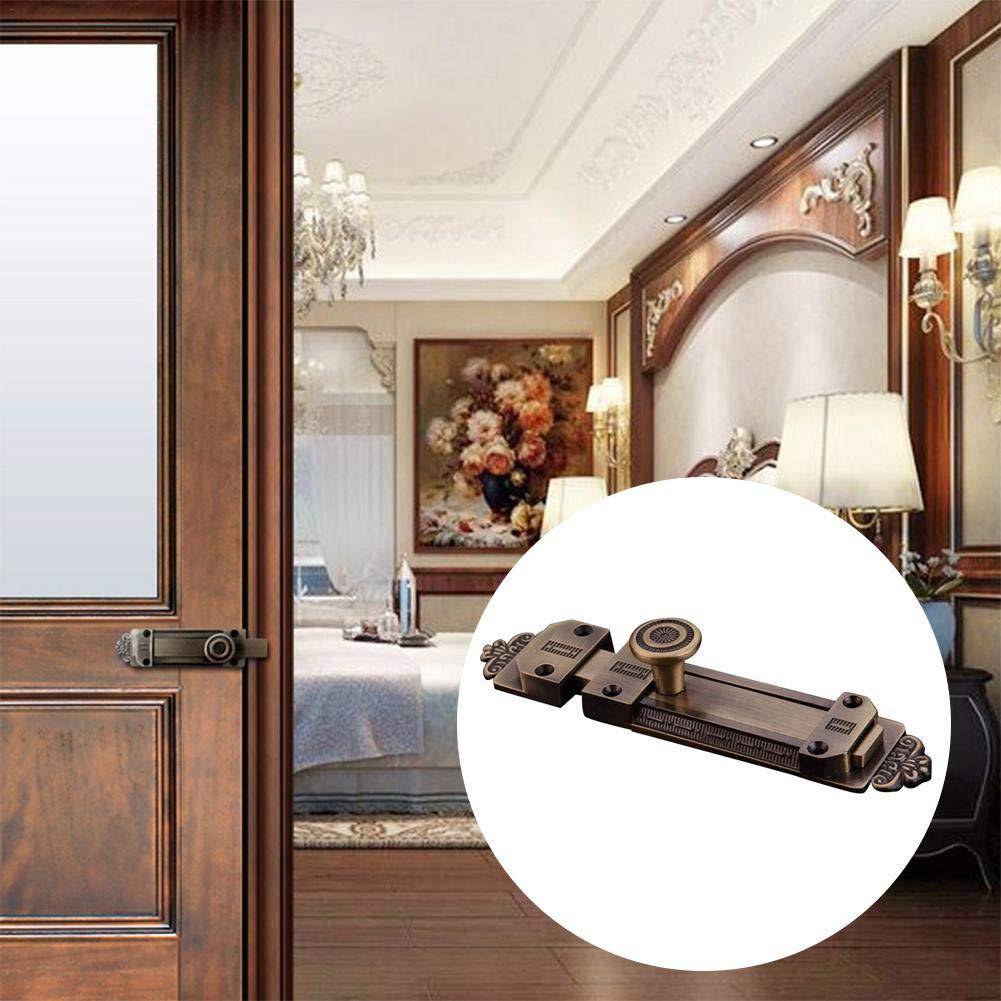 biteatey Pestillo De La Puerta,Pernos Deslizantes para Cerraduras De Puertas Europeas De Estilo Vintage para Armarios De Puertas con Ventanas Like-Minded Sweet