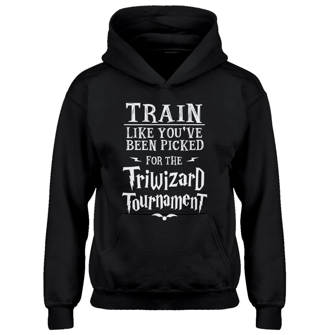 Indica Plateau Youth Train for Triwizard Tournament Kids Hoodie