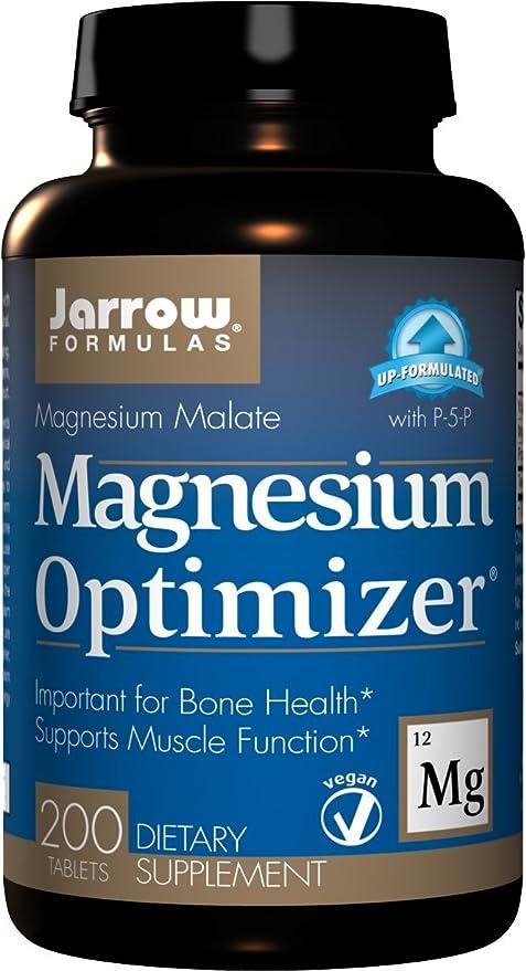 Jarrow Formulas Magnesium Optimizer - 200 Tabs - 200 ...