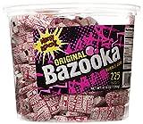 Original Bazooka Bubble Gum, 225 Piece Tub, 47.6 oz