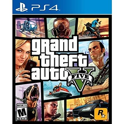Amazon com: Grand Theft Auto 5 PS4 - PlayStation 4: Video Games