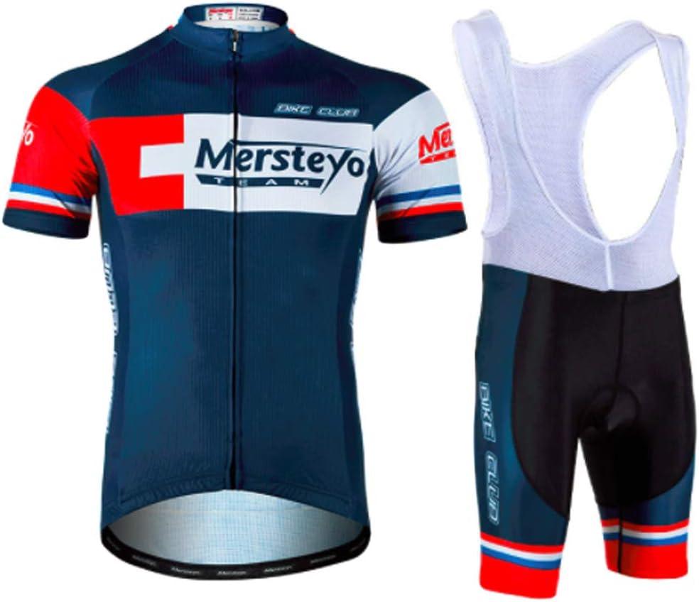 Short Respirant et s/échage Rapide Printemps///ét/é//Automne YSYFZ Maillot de Sport pour Hommes de Plein Air Costume Cyclisme Maillot de Sport /à Manches Courtes Jersey