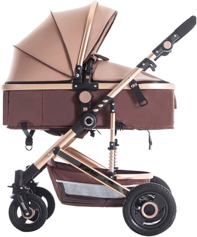 強い折り畳み式の乳母車、座ることができる/うそをつくことができる双方向乳母車、新生児用の高品質ベビーカーベビーカー0〜36か月 子供向け