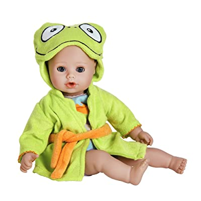 "Adora BathTime Baby ""Frog"" 13"" Fun Kids Bathtub Water / Shower / Swimming Pool Time Play Soft Cuddly Toy Play Doll Toddler Kids & Children 1+: Toys & Games"