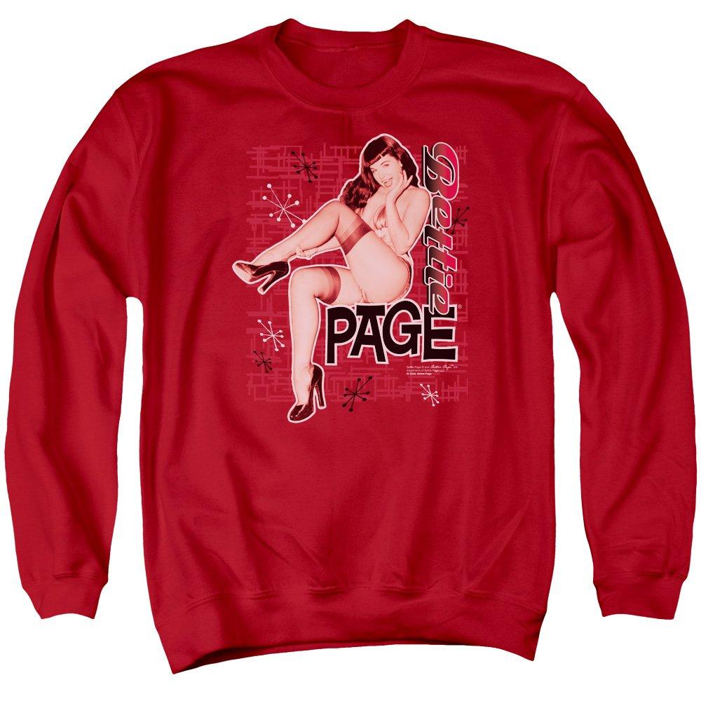 Bettie Page Mens Retro Hot Sweater