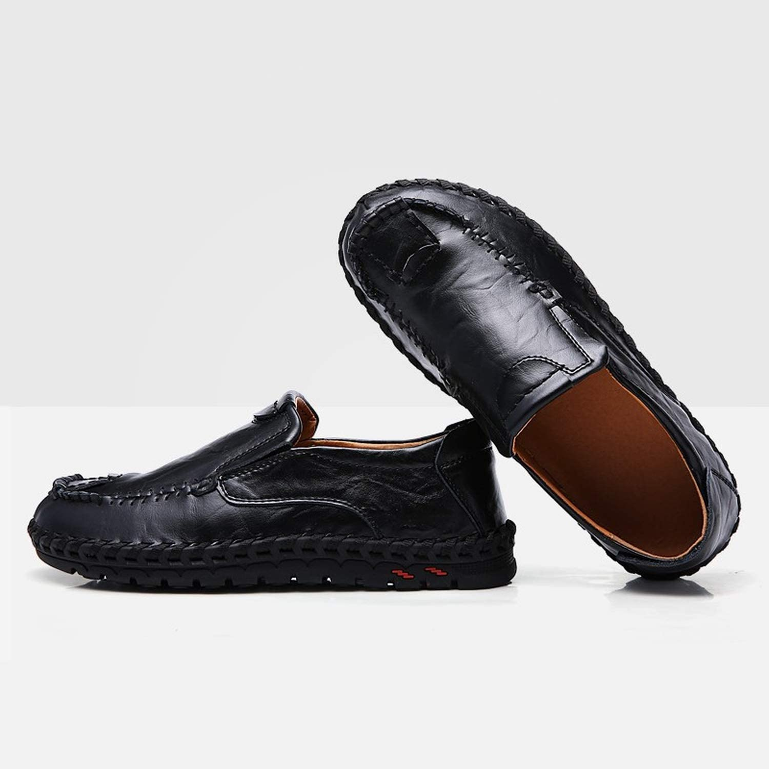 2019 Spring Casual Shoes Men Fashion Loafers Men Casual Driving Shoes Soft Moccasins Flats Slip On Footwear Men Big Size,Yellow,11