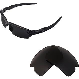 Walleva Ersatzgläser für Oakley Half Jacket 2.0 Sonnenbrille - Mehrfache Optionen (Klar) AWwyLfPKs