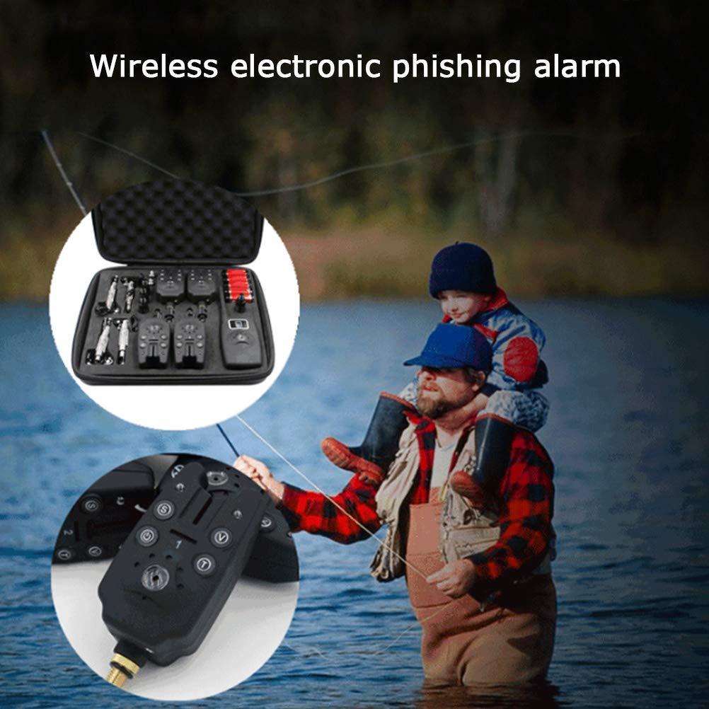 Neborn Alarma de Pesca Digital inalámbrica para mordeduras ...