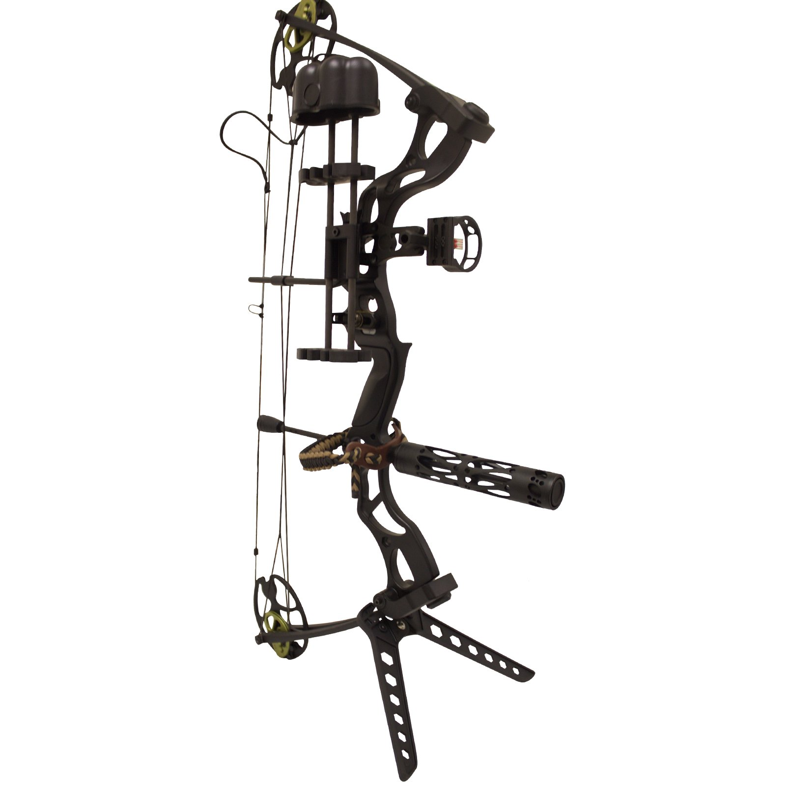 Southland Archery Supply SAS Rage 70 Lbs 30'' Compound Bow (Black with Pro Package)