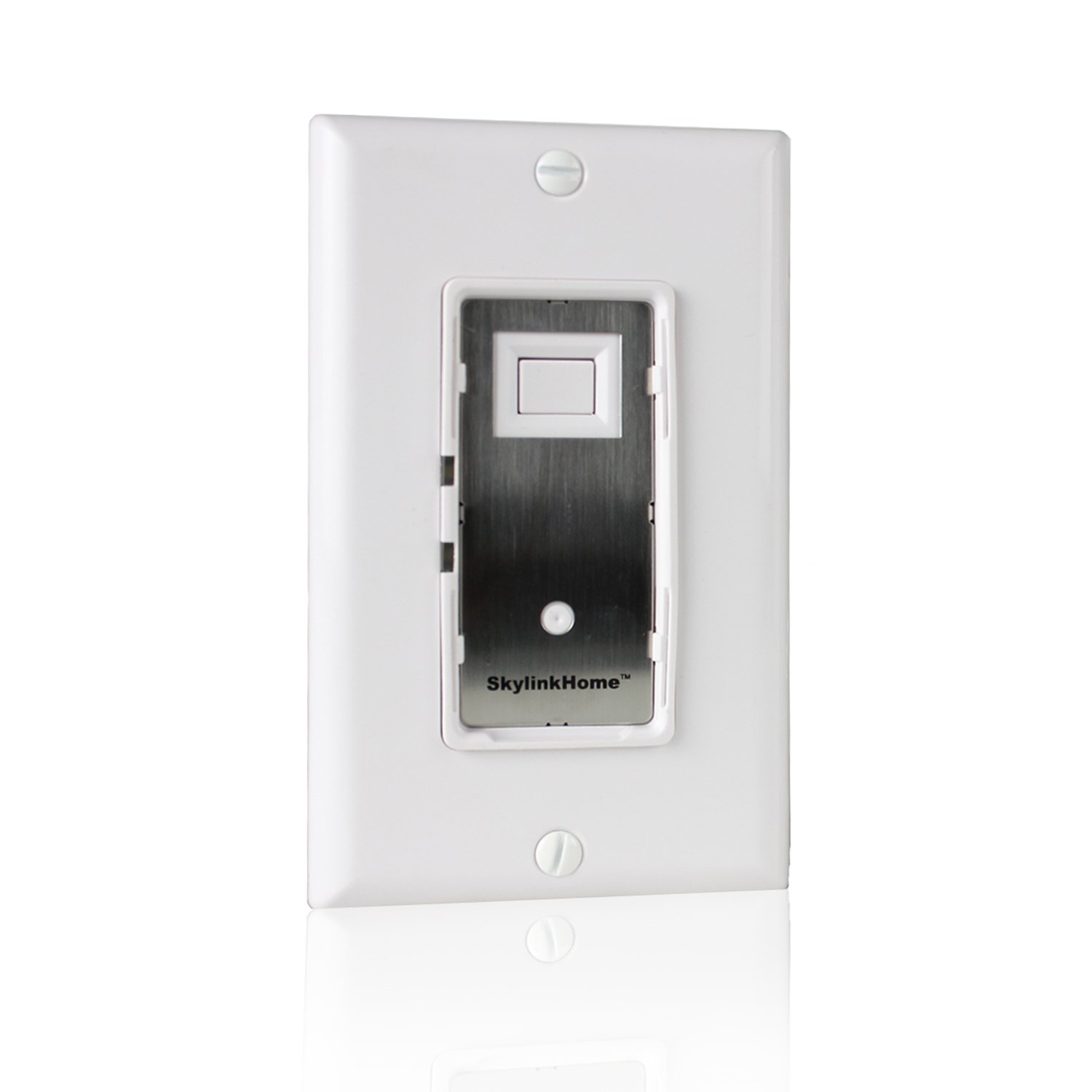 SkylinkHome WE-001In-Wall On / Off Wall Switch Lighting Control Home Automation Smart Light Remote Controllable Light Receiver, SkylinkNet Compatible Easy DIY Installation without neutral wire