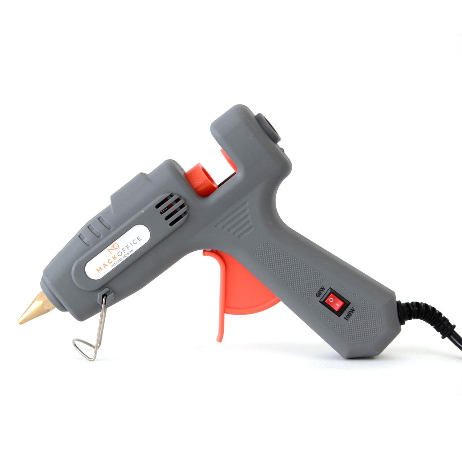 MackOffice Professional Glue Gun Full Size (Not Mini) Hot Melt Glue Gun 60/100W Dual Power High Temp Heavy Duty Melt Glue Gun best for Work | Home and for Arts & Crafts Use,Christmas Decoration/Gifts by MACKOFFICE (Image #2)
