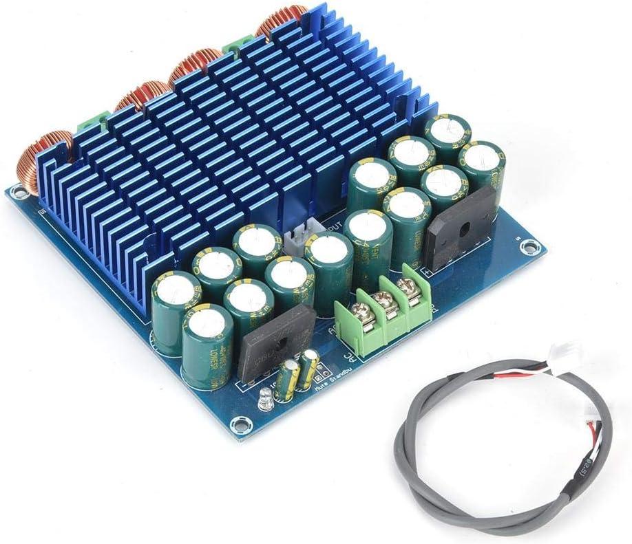 Verstärkerplatine Digitale Hochleistungs Hifi Verstärkerplatine Tda8954 420w 420w 2 0 Class D Verstärkerplatine Mit Gehäuse Baumarkt