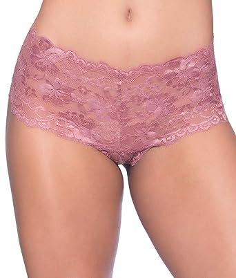 bef35976fc94 Amazon.com: Oh la la Cheri Women's Goodnight Kiss Boyshort: Clothing