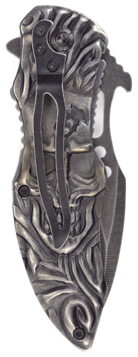 Renegade Tactical Steel Skull Linerlock