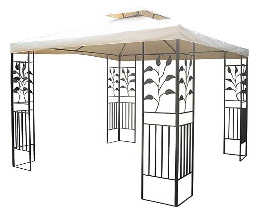 Good Pavillon Fr Garten Aus Metall With 3x4 Wasserdicht