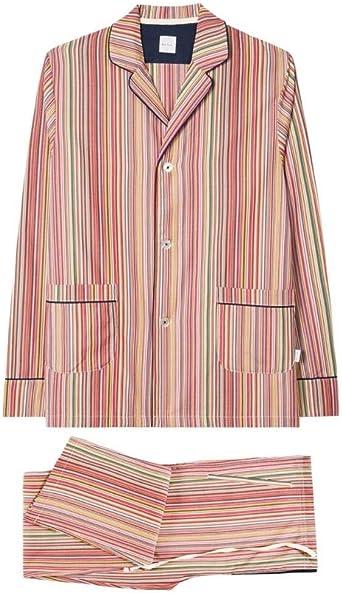 Paul Smith Signature - Pijama de algodón para Hombre L: Amazon.es: Ropa y accesorios