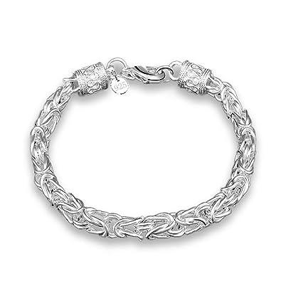 41f1e85dd72b BODYA bañado en plata con anillas en forma de Link geométrico ...