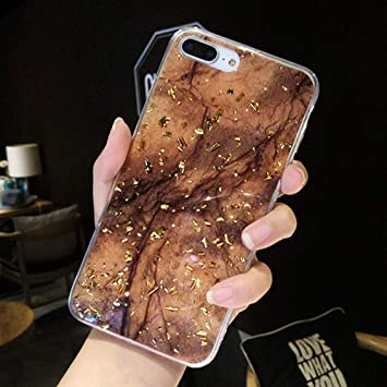 coque iphone 8 plus feuille d or