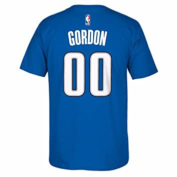Adidas Aaron Gordon Orlando Magic NBA Azul Nombre y número Jugador Equipo de Jersey Color Camiseta de Manga Corta para Hombre, XL, Azul: Amazon.es: Deportes ...