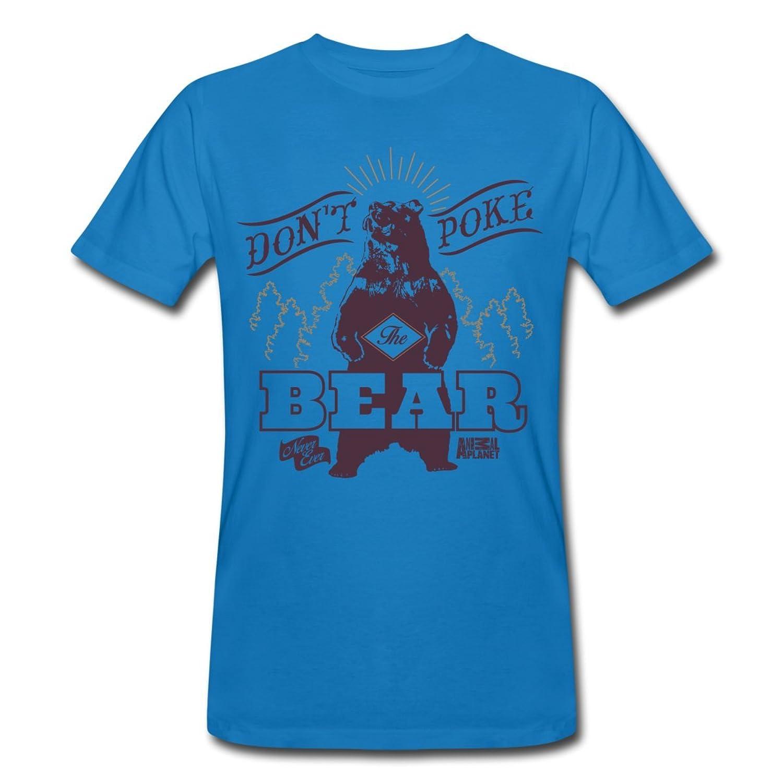 Bear Poke Animal Planet Men's Organic T-shirt by Spreadshirt??