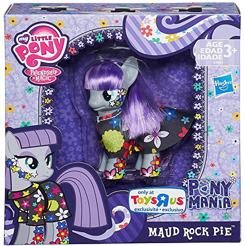 My Little Pony Friendship is Magic Maud Rock Pie Exclusive Figure by Hasbro (Rare Magic English)