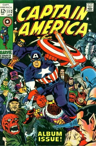 Captain America (1st Series) #112 VG ; Marvel comic book