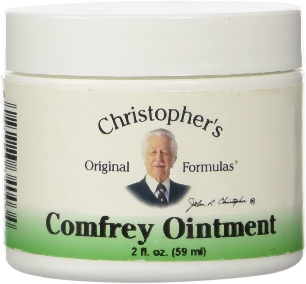 Dr. Christopher's Comfrey Ointment, 2 Ounce