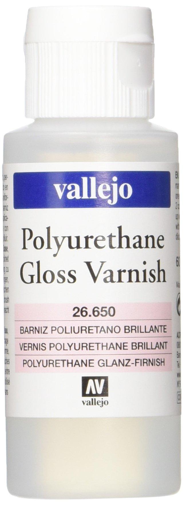 Vallejo Gloss Varnish Polyurethane, 60ml