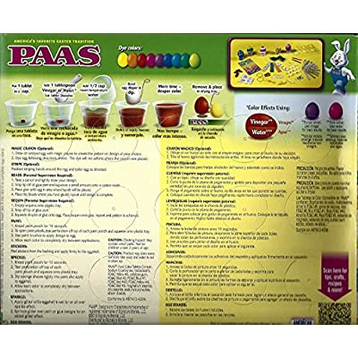 PAAS-Deggorating-Party-9-kits-in-One Easter-EGG decorating kit: Toys & Games
