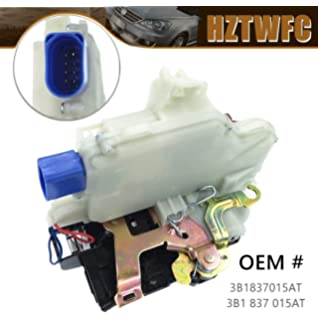 Ensun 3B1837015A Door Lock Actuator Latch Front Left Hand Driver Side 8 PIN
