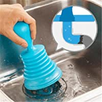 HENGSONG Sink Plunger Blocked Toilet Bath Drain Unblock Sinks Pipe Cleaner Home Kitchen Tool