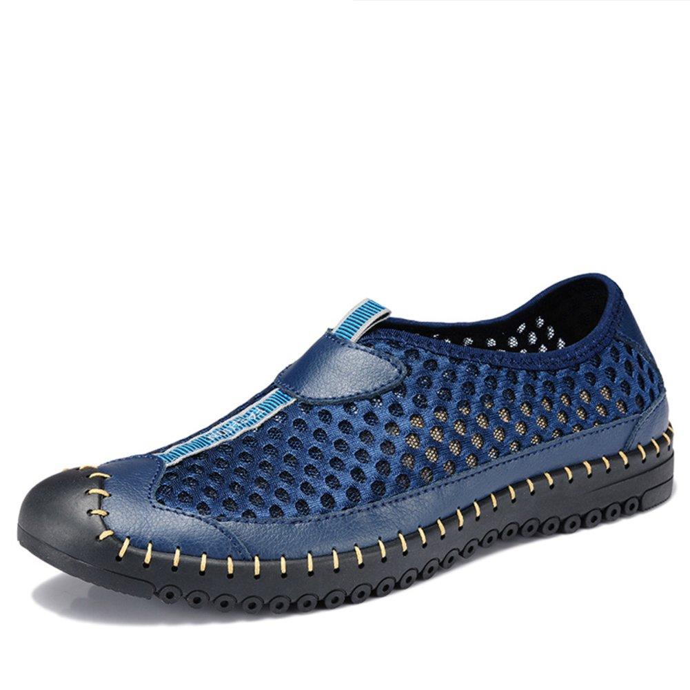 Atmungsaktive Schuhe Schuhe Schuhe Sommer Männerfüßen Mesh-Schuhe Ein faul Netz Sportschuhe 56c974