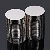 50pcs N50 15mmx1mm Super Strong Round Disc Magnet Rare Earth Neodymium Magnets Single Item