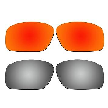 aCompatible 2 Par lentes polarizadas de recambio para Oakley straightlink gafas de sol oo9331 Pack P3: Amazon.es: Deportes y aire libre